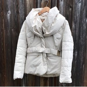 Laundry by Design Down Filled Winter Jacket Cream